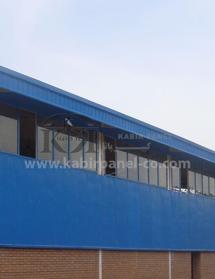 ساندویچ پانل در نمای ساختمان - کبیر پانل