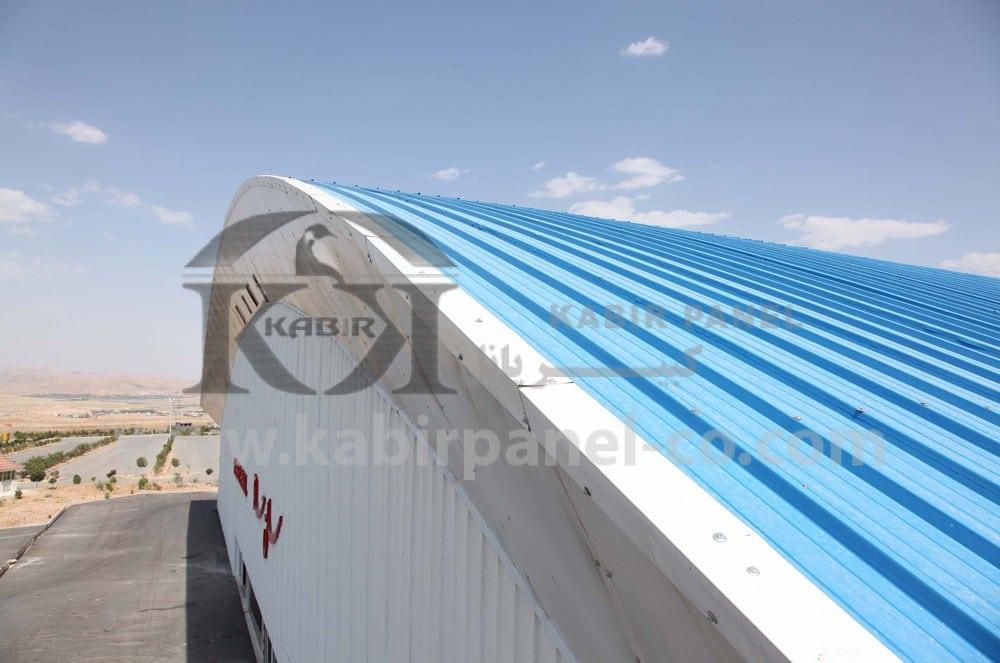 ساندویچ پانل سقفی عایق حرارتی مناسب - کبیر پانل