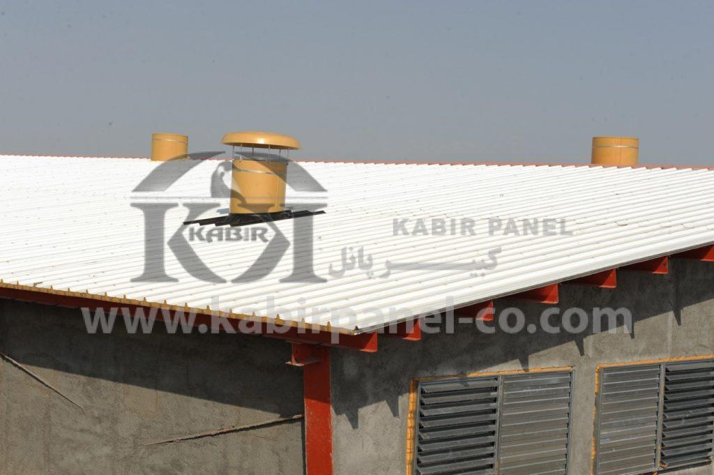 مشخصات مهم ساندویچ پانل سقفی - کبیر پانل
