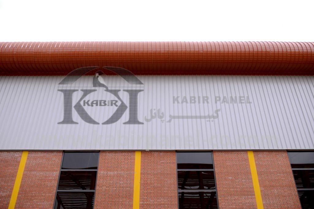 پروژه ساندویچ پانل سقفی و دیواری چسب استحکام - کبیر پانل